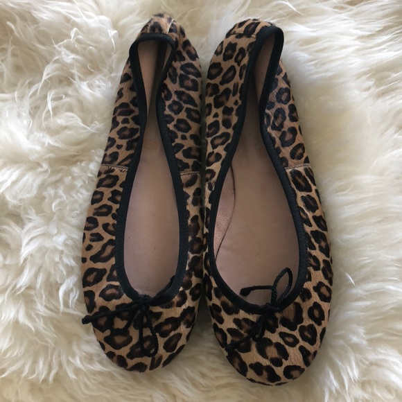 a00b1527c52b Pretty Ballerinas Shoes | Pretty Ballerina Leopard Ballet Flats Sz ...